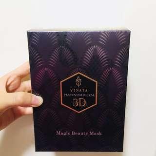 台酒生技-Vinata紫粕銀鑽頂級皇家系列-3D超導入奇肌面膜