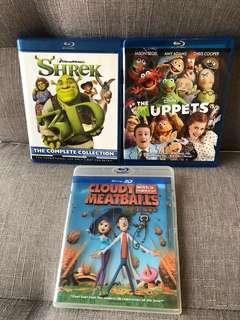 原裝正版 Blu-ray Disc ($110@)