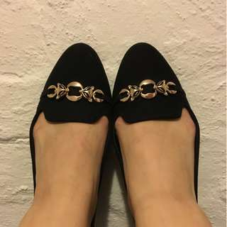 Kurt Geiger Black Shoes Flats Slippers - 8 - 39