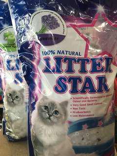 Litter star silica gel cat litter 5Litre