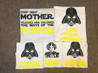Custom family tshirt
