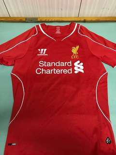 利物浦 Liverpool 14/15 巴洛迪利主場球衣