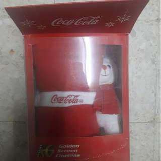 Coca-cola Bear Fleece Set