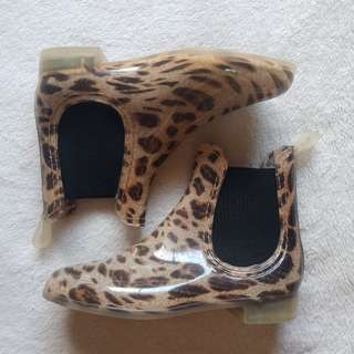 Aussie Chic Animal Print Rainy Dainty High Cut Ankle Boots