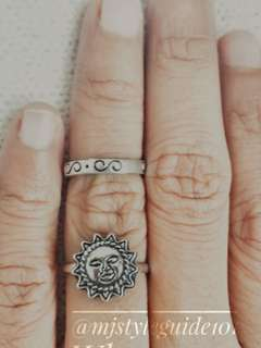 SALE! Ethic Style Sun 2 Rings