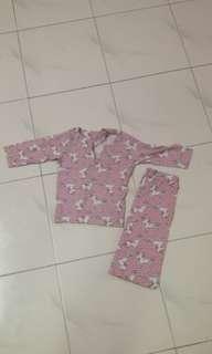 Baju kurung 1-2y
