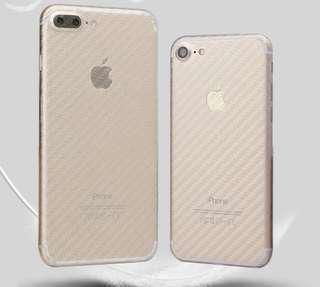 IPhone 7 8 plus Carbon Fibre Skin