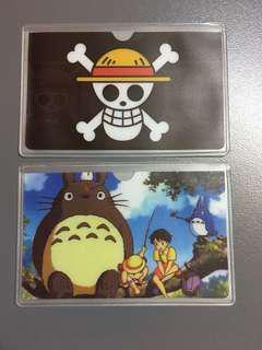 八達通卡套雙層 One Piece 龍貓