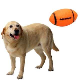 Pet toys mainan gigitan anjing pet training bola lempar anjing