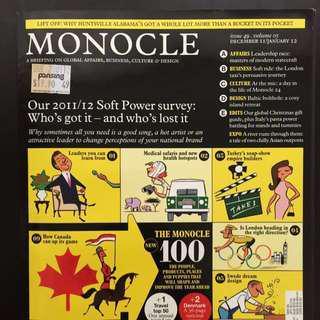 🚚 Monocle Magazine