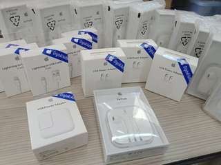 "Apple accessories ""ORIGINAL CERTIFIED BY APPLE"" order now!"