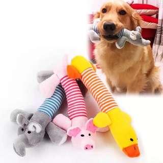 Pet toys mainan gigitan anjing kucing boneka anjing kucing