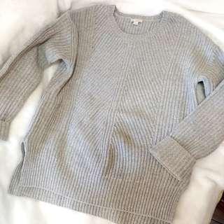🌟 包順豐 ! Gap 灰色 寬鬆 加厚 粗冷 冷衫