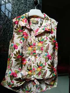 Girl Floral top - LC Waikiki