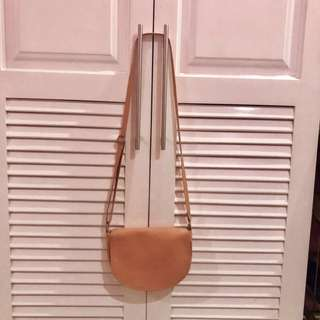 Pink Shoulder or Sling Bag