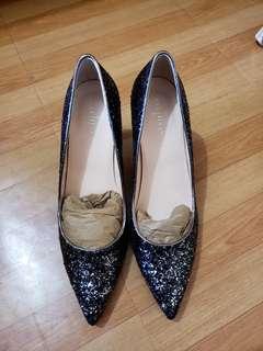全新女装閃面高跟鞋