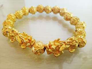 🚚 Gold Bracelet pixiu