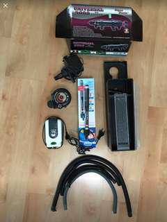 Universal 9000 uv filter and accessories
