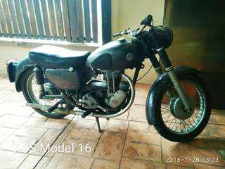 Motorcycle - Vintage AJS 1956