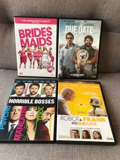 DVD Comedy Movies ($50@)