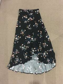 Cotton on Maxi ruffled skirt