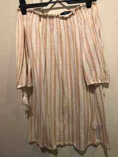 Sportsgirl off the shoulder dress Size XS