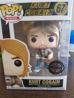 Funko Pop! Kurt cobain