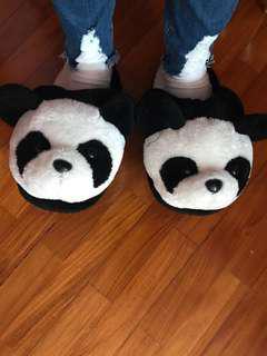 Cute Panda Slippers | River Safari Edition