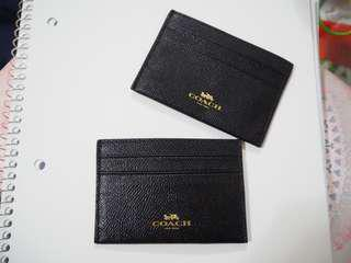 BN Coach Authentic Card Holder