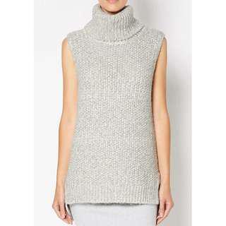 NEW Witchery Grey Alpaca Blend Sleeveless Knit RRP $129.95