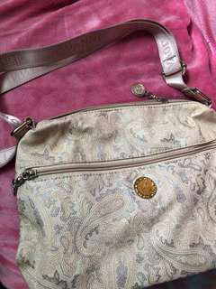 White gold Body Bag