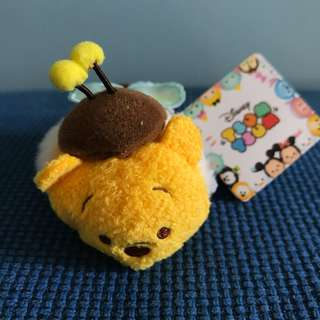 BNWT Authentic Honey Bee Pooh Tsum Tsum