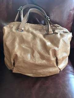 LARGE BROWN LEATHER BAG | Luxury Brand