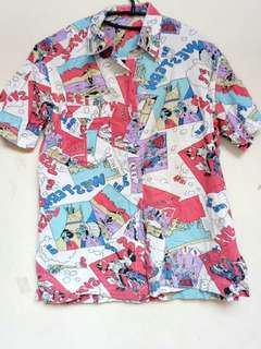 #YEARENDSALE - Cartoon Shirt