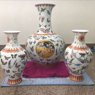 Antique Set Vases