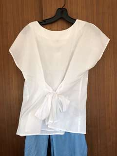 Japan white top