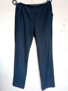 #YEARENDSALE - Black Cutbray Pants
