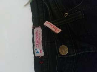 Celana jeans hitam cardinal ori