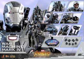 Hot Toys War Machine Mark 4 Infinity War PO