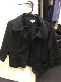 Postie Black Blazer