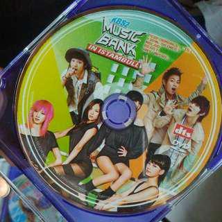 MUSIC BANK in istambul DVD (kimtiiyas)
