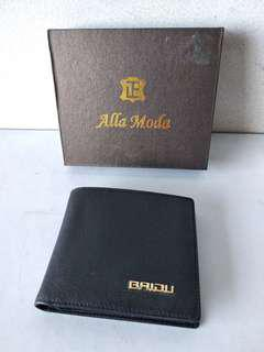 9格真皮銀包 leather wallet