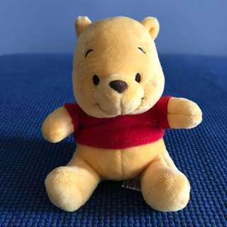 Winnie The Pooh Plush Toy 11cm