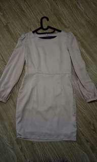 Dress khaki size S