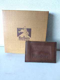 Marlboro 萬寶路真皮身份證套,八達通套