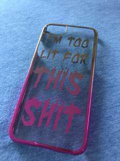 iPhone Case iPhone 6 7 skinnydip 電話殼 手機殼 漸變色