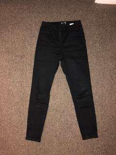 Black Skinny Jeans (Size 10)