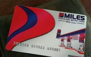 Petron miles card