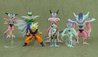 日本空運原裝正貨初版新淨中古套裝 龍珠 Dragonball Z HG figure part (SP3)ドラゴンボールZ~恐怖の帝王!フリーザスペシャル(2008年5月)