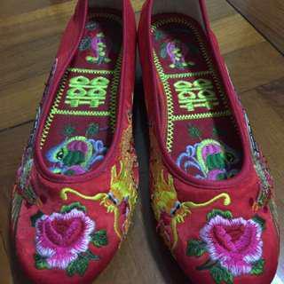 平底裙褂鞋